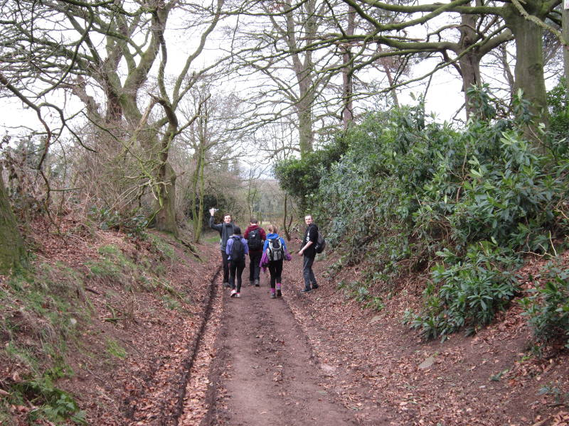 WCB walks the Sandstone Trail for Sport Relief